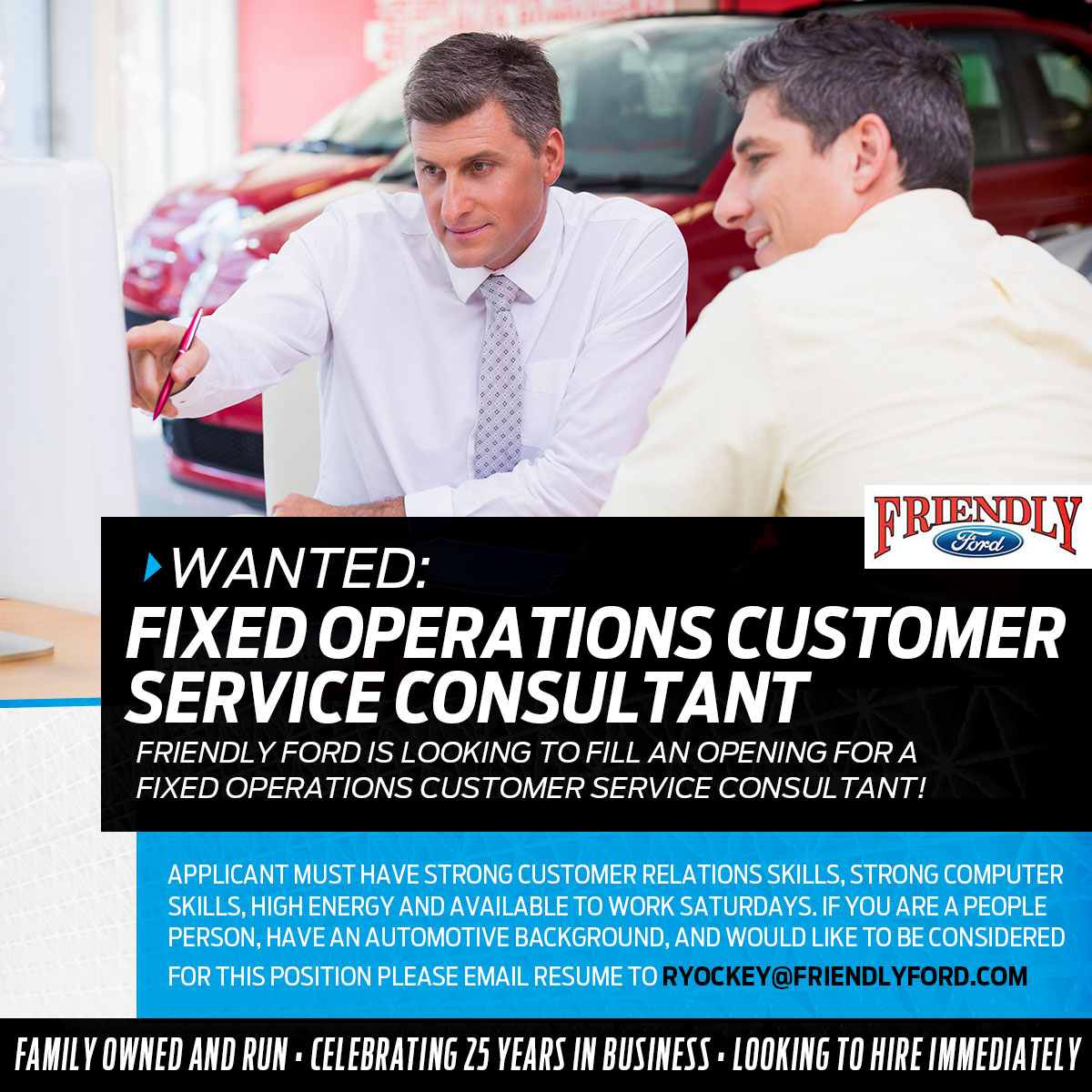 job listings in roselle il friendly ford fixed ops customer service consultant needed near chicago