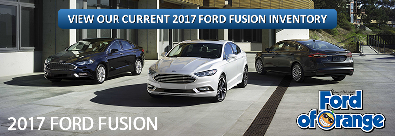 2017 Ford Fusion Orange County