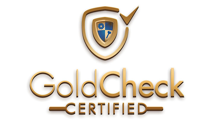 Gold Check Certified
