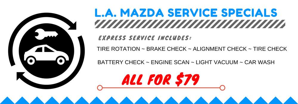 Alfa Romeo Service Parts Berkshire >> Service Department Coupons, Specials - LA Mazda