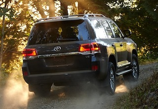 Exterior of the 2016 Toyota Land Cruiser