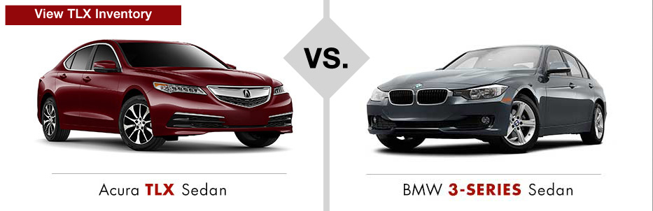 acura tlx vs bmw3series