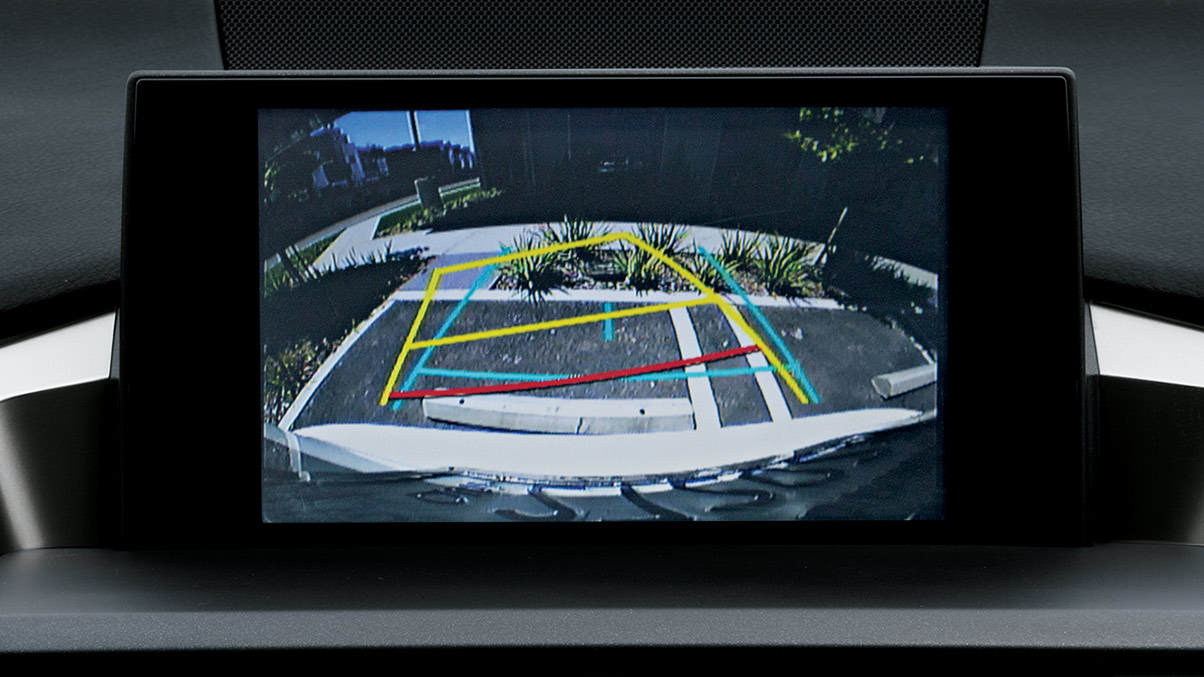 The Backup Camera Makes the Lexus NX200t Safe!