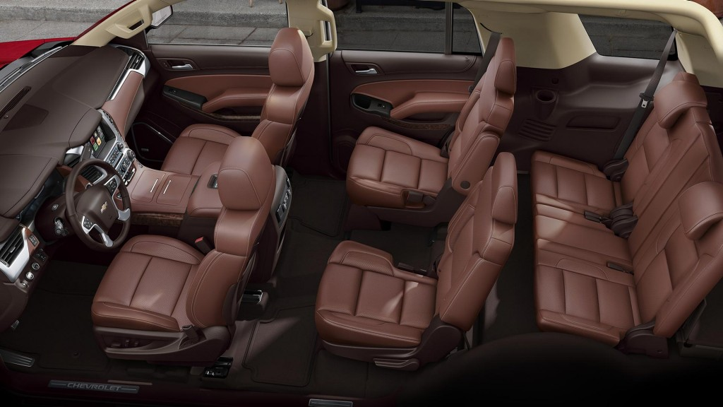 The Versatile 2017 Tahoe Interior
