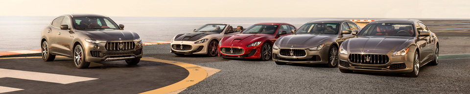 Test drive a new maseratei at Van Nuys Maserati in the Los Angeles area.