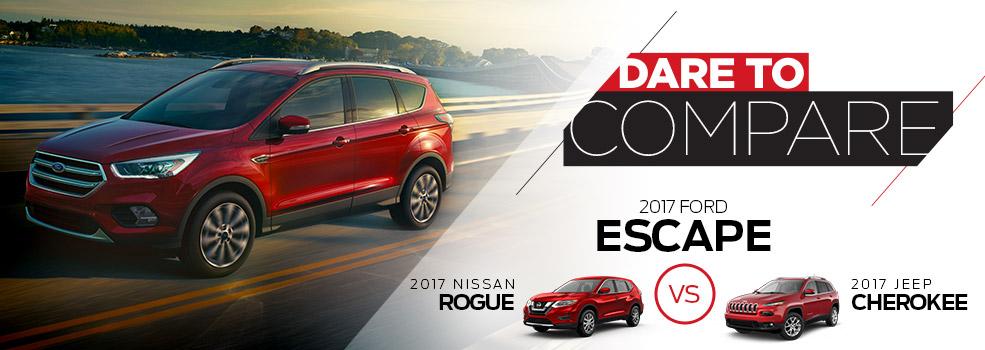 Dare to Compare- Ford Escape