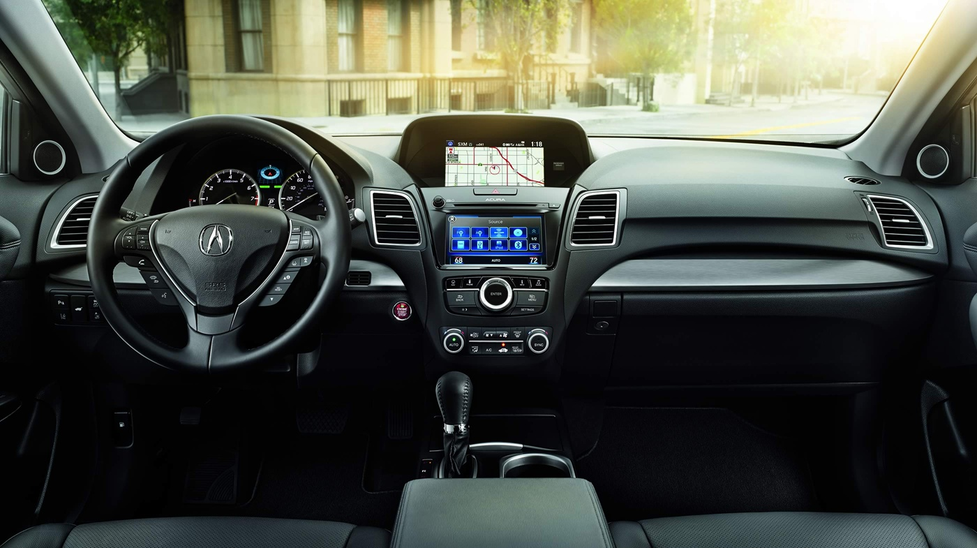 Luxurious interior of the rdx