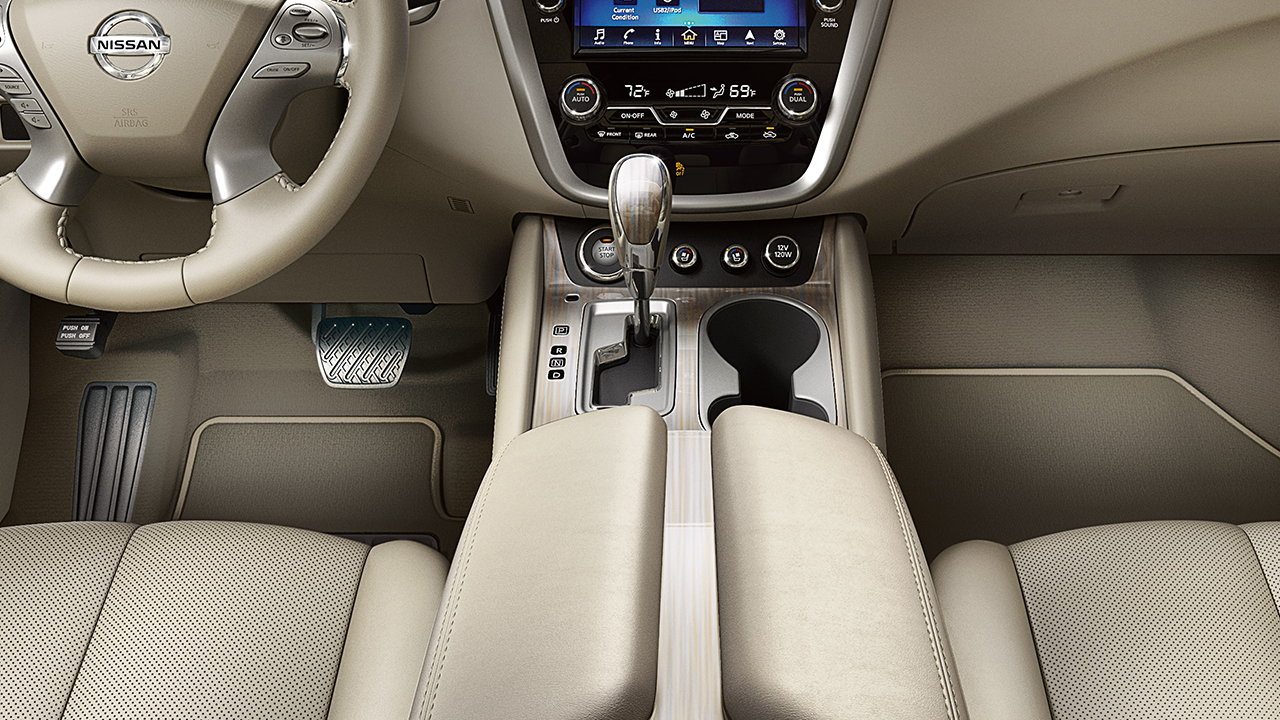 2017 Nissan Murano Interior With Optional Features