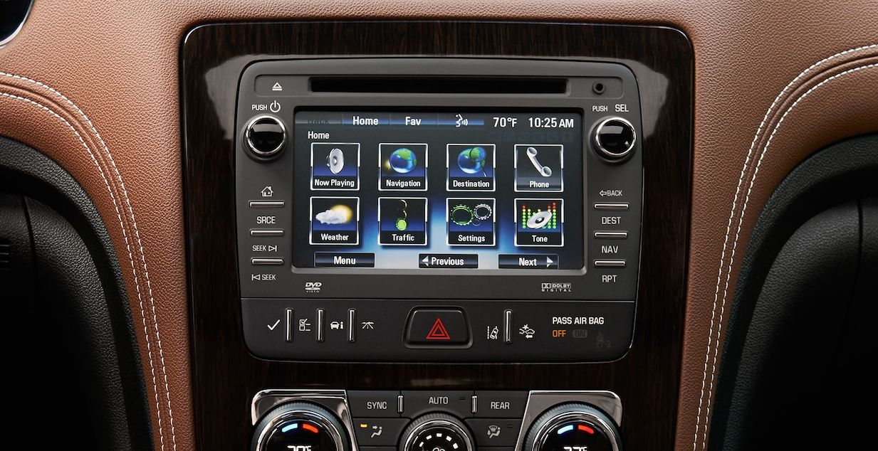 Chevy Traverse Infotainment System