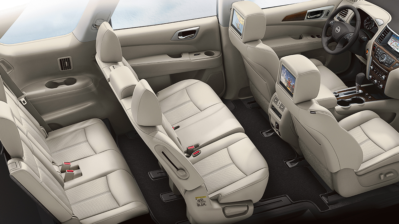 There's Plenty of Space for Everyone in the 2017 Nissan Pathfinder.