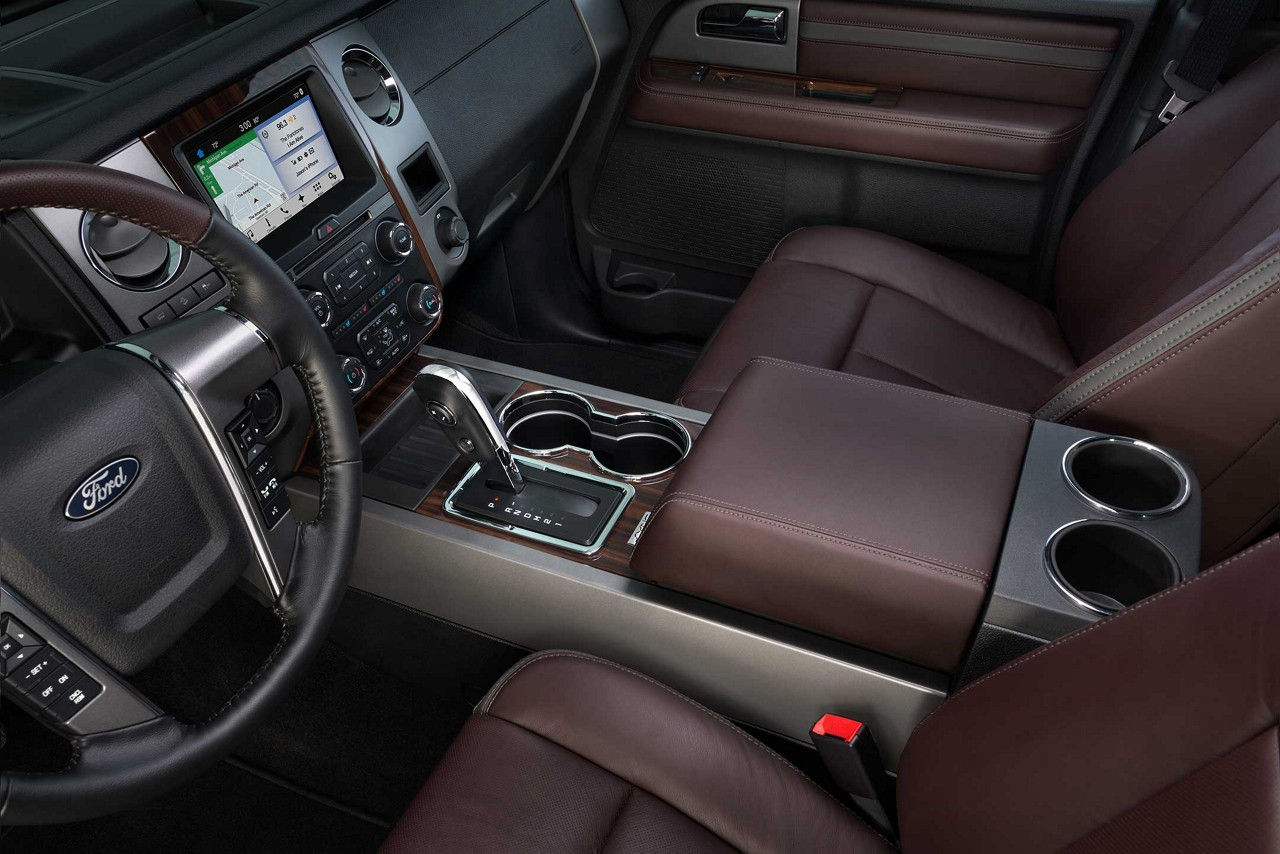 The Interior of the 2017 Expedition