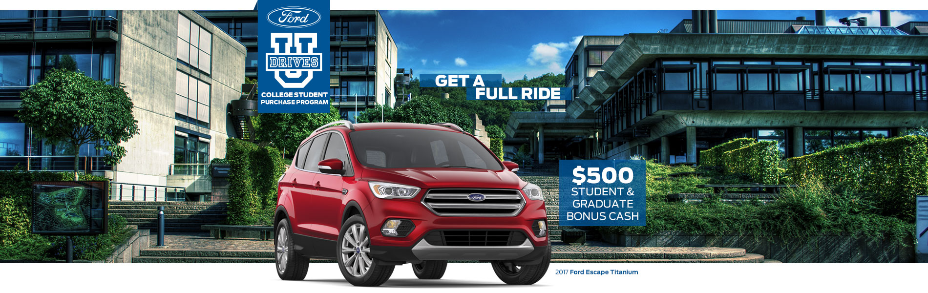 College Student & Graduate $500 Bonus Cash - Joe Cotton Ford