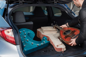 Cargo space in the new Toyota C-HR