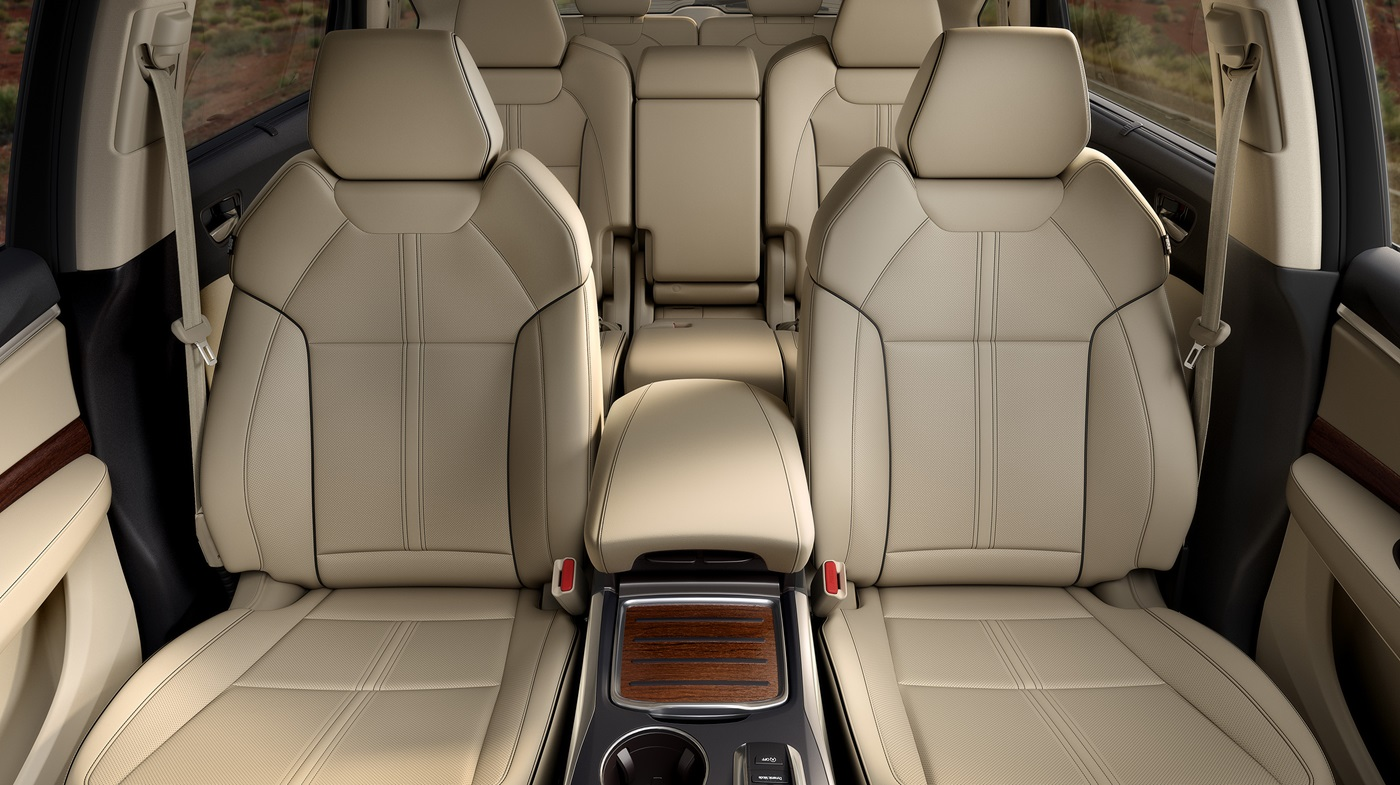 Spacious Interior of the MDX