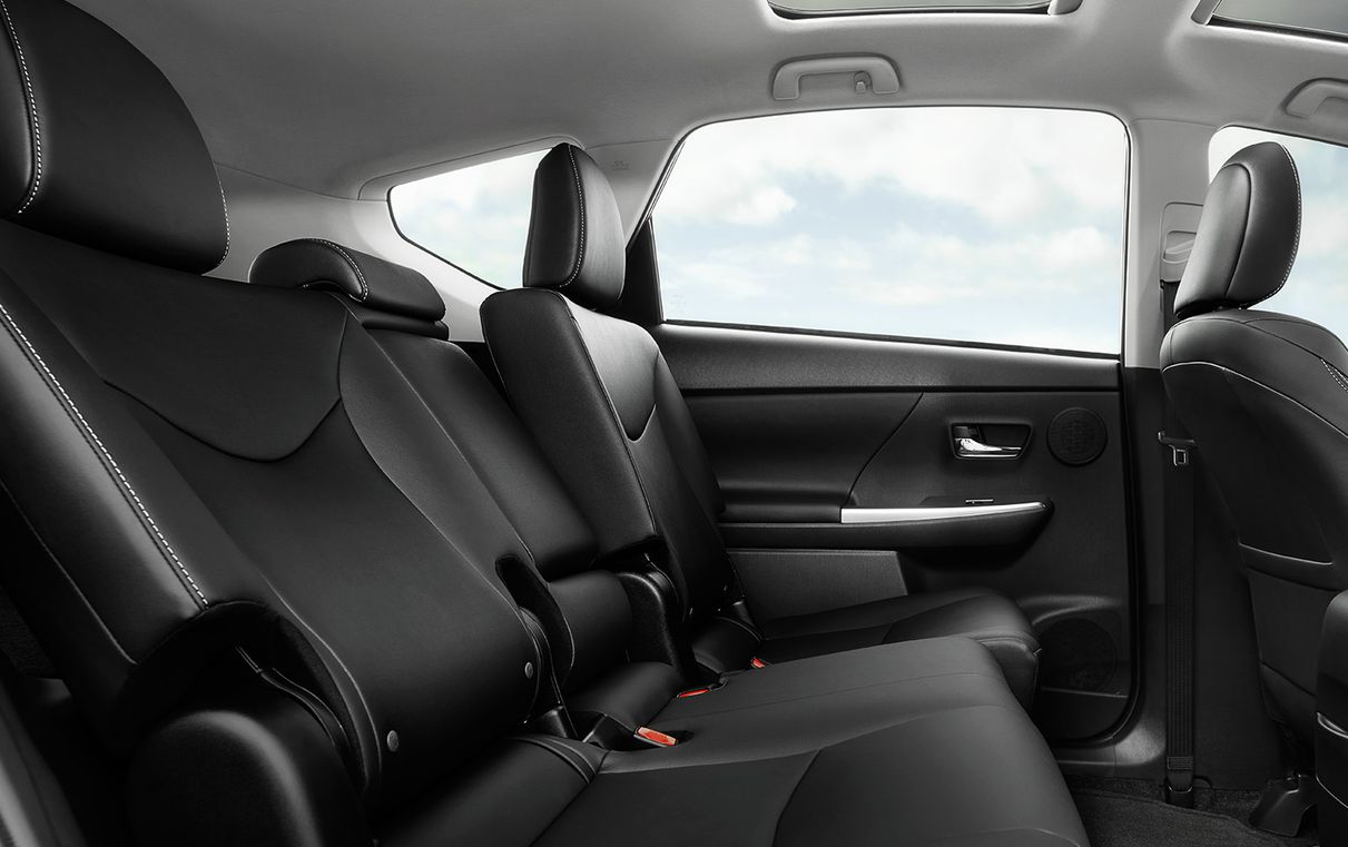 Prius v with SofTex®-trimmed Seats