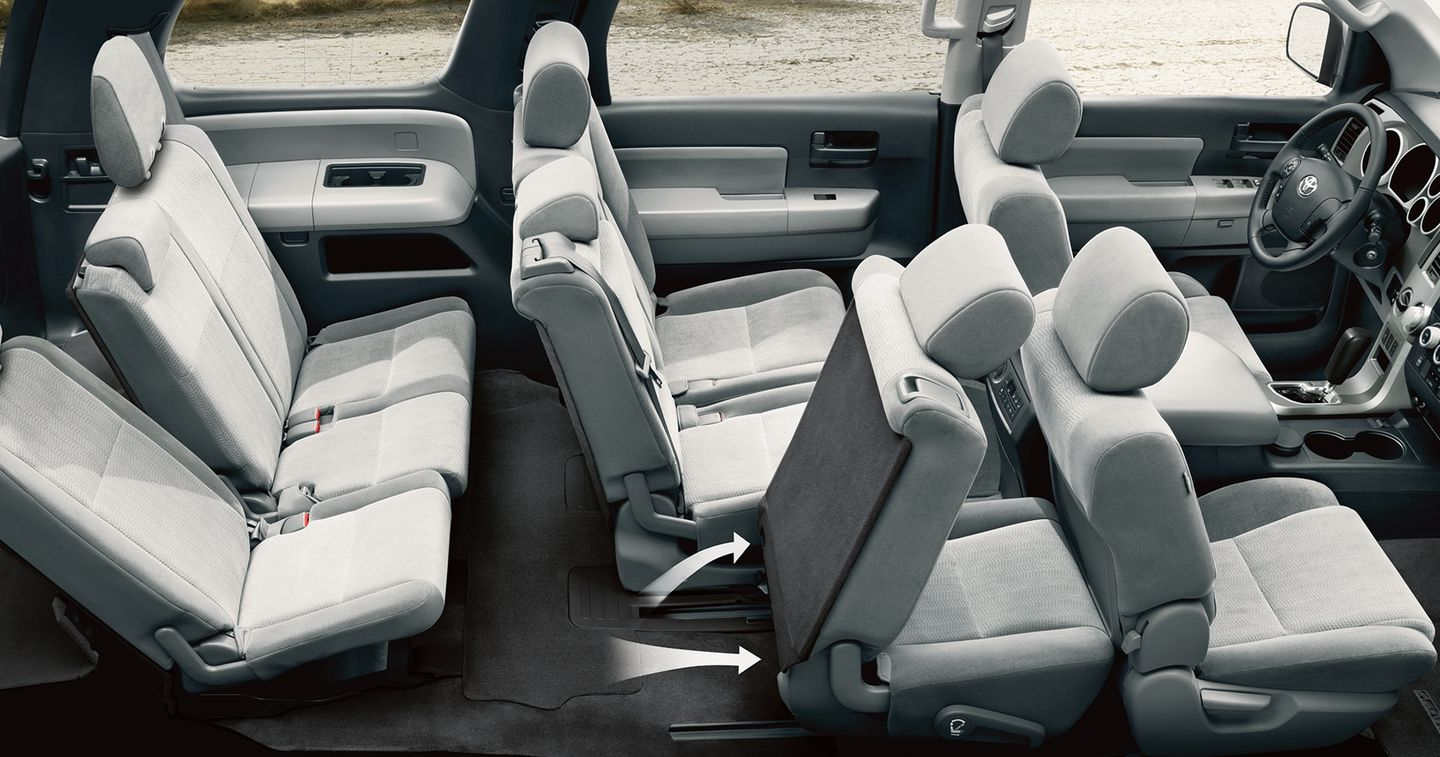 2017 Sequoia with 60/40 Split-folding Seats