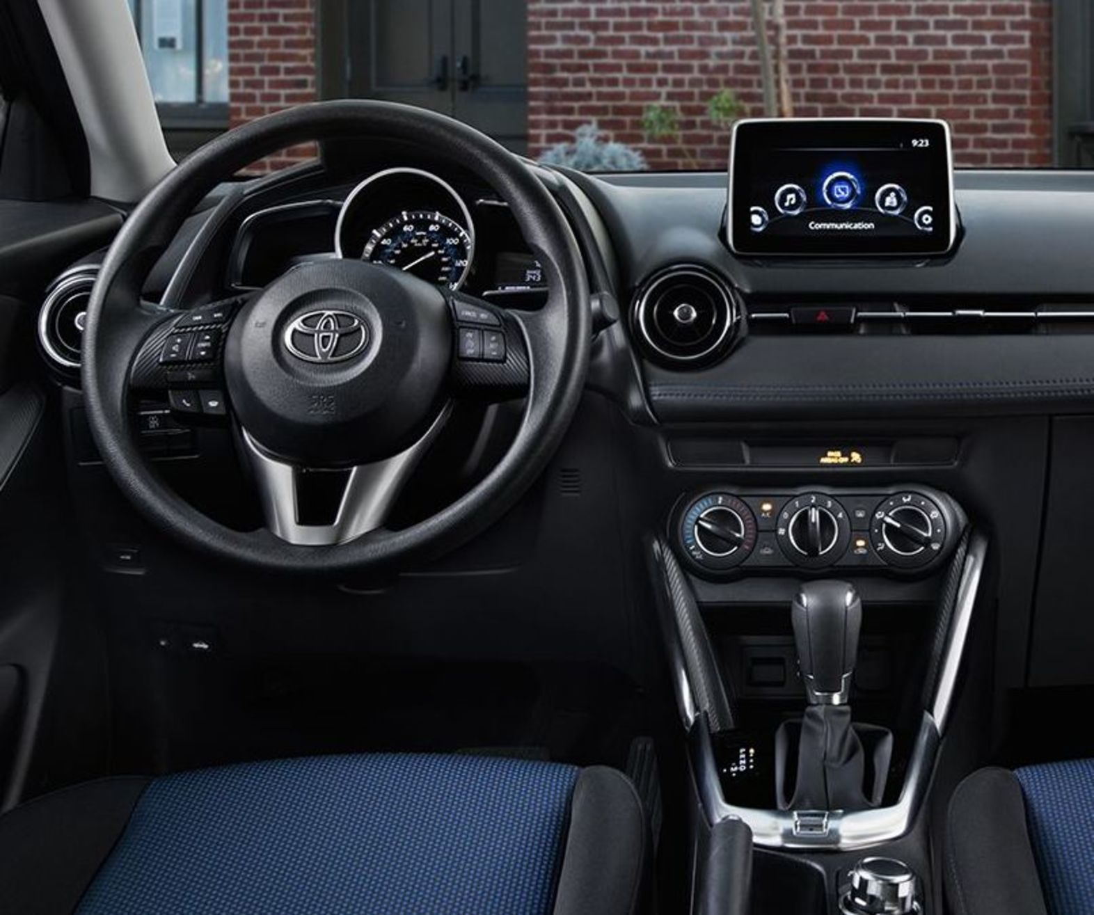 Push Button Start, 6-speaker Audio System, and More in the 2017 Yaris iA