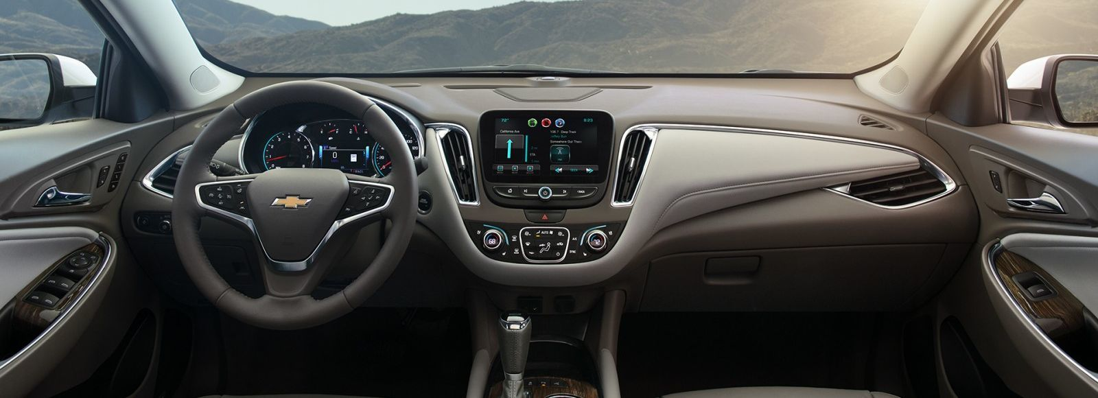 Malibu is Equipped with OnStar® 4G LTE Wi-Fi