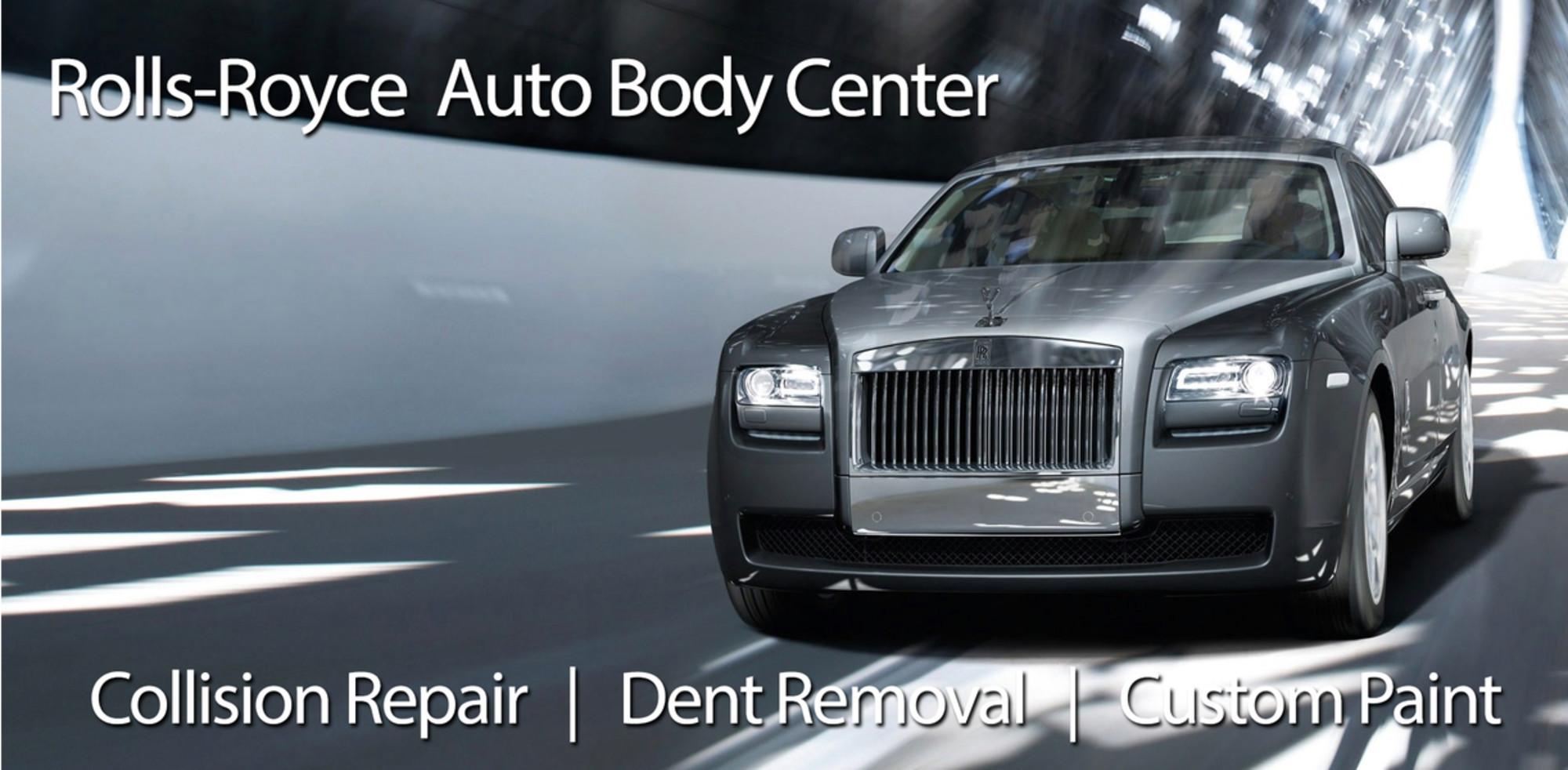 Rolls Royce Body Shop Greensboro Repair Collision Shop