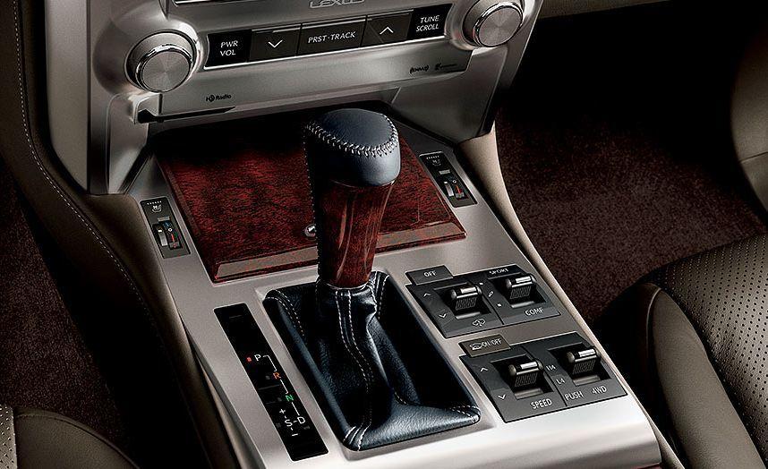Lexus GX 460 Wood-grain Accents