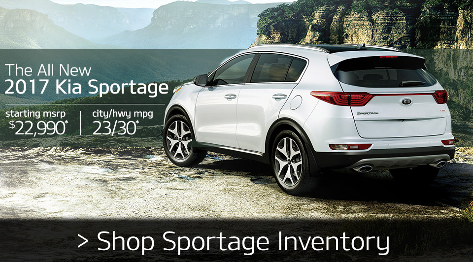 Shop 2017 Kia Sportage Inventory